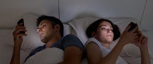 Reduce using a mobile phone in the bedroom